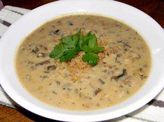A Wild, Wild Rice and Mushroom Soup