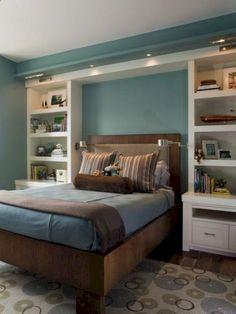 Stunning small master bedroom decorating ideas 53