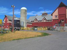 Central Experimental Farm barns, Ottawa, ON Aug 2012