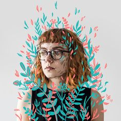 Ознакомьтесь с этим проектом @Behance: «spring selfportrait» https://www.behance.net/gallery/50655485/spring-selfportrait