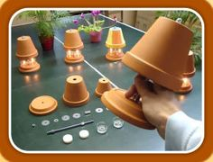 Tealight oven shop - The 5 advantages of the tested kit - candle powered heater Clay Pot Crafts, Fun Crafts, Diy And Crafts, Diy Candles Video, Candle Heater, Diy Heater, Candle Power, Hacks, Terracotta Pots