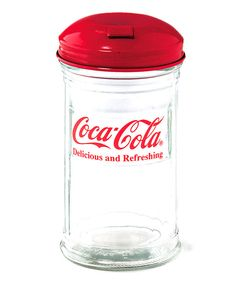 Look at this Coca-Cola Sugar Shaker on #zulily today!