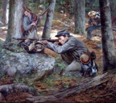 """Confederate Sharpshooter""-Don Troiani"