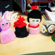 """nicolaaubrey """"The #BigKnit is back up & running in our Basingstoke office.. Some of the knits are A-MAZING (!!) makes me want to knit.. However I'm not 100 so I will leave that hobby to the pros lol! (I'll stick with baking!!"""""""
