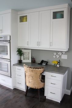 30 Functional Kitchen Desk Designs Google images Kitchen desks