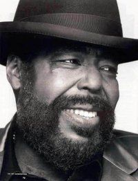 "BARRY WHITE ~ Born: Barry Eugene Carter ~ American Composer, Singer, Songwriter. A two-time Grammy Award-winner known for his distinctive bass voice and romantic image, White's greatest success came in the 1970s as a solo singer and with the Love Unlimited Orchestra, crafting many enduring soul, funk, and disco songs such as his two biggest hits, ""You're the First, the Last, My Everything"" and ""Can't Get Enough of Your Love, Babe."""