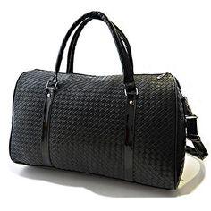 Black Leather Luggage Travel Sport duffle Bag Gym Bags men Women Valise FR149 #sheerbliss #bestoftheday  #leatherbag #leather #handemade #leathercraft #fashion