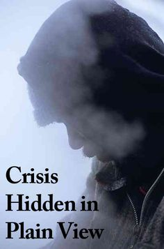 From the crisis is hidden in plain view campaign via the National Coalition for the Homeless.  www.nationalhomeless.org