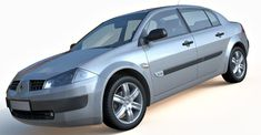 2008 Renault Megane 3d model, is a small family car from Renault. High resolution 3d model of Renault Megane, with standard materials and textures. Perfect for closeup renders, architectural renders and visualization.
