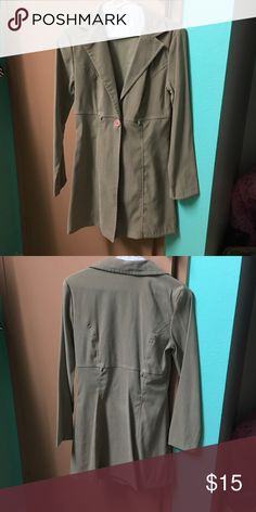 Tan Lightweight Coat Great condition! Jackets & Coats