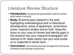 Copywriting   Literature review process techniques and mechanism Literature Review Conclusion