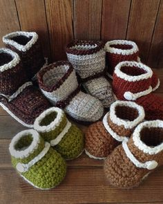 Picture of Boots 'n Booties Crochet Pattern