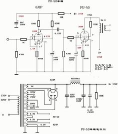 Tube MM Phono Stage Amplifier Board PCBA Ear834 Circuit