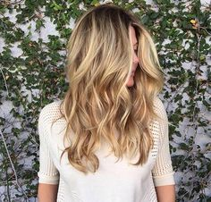 Beautiful summer hair