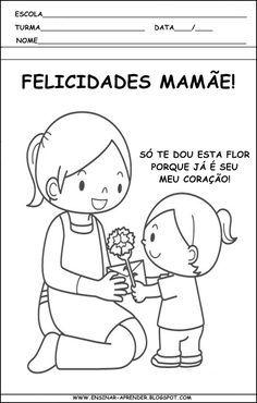 Resultado De Imagem Para Atividades Dia Das Maes Maternal Com