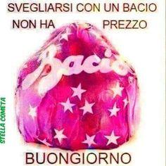 Buongiorno Baci Perugina Good Morning Good Night, Good Morning Quotes, Italian Greetings, Cristiani, Cinema, Akita, Dory, Peanuts, Mornings