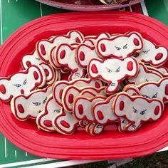 Alabama football cookies