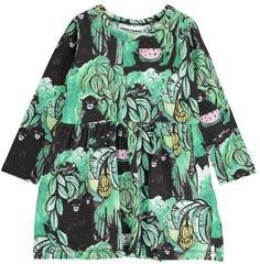 Organic Cotton Monkeys Dress