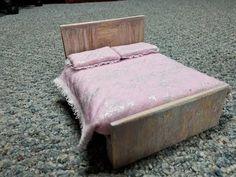 tutorial: miniature rustic queen bed