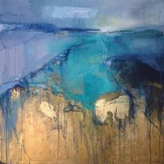 "Saatchi Art Artist Magdalena Morey; Painting, ""Abstract Reverie 2"" #art"