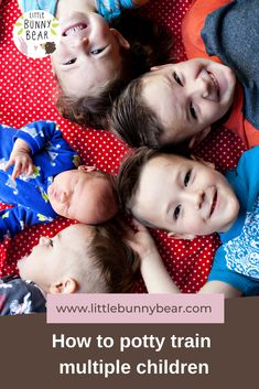 What is the best way to approach potty training twins or multiples? Should you potty train them together or separately? This post will give you the tools that you need to decide which approach is best for you and your family. Natural Parenting, Gentle Parenting, Bunny And Bear, Multiplication For Kids, Attachment Parenting, Potty Training, Baby Essentials, Communication, Twins