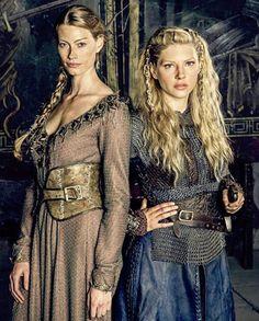 Lagertha and Aslaug...