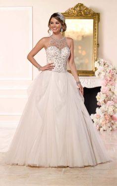 6232 Illusion Wedding Dress by Stella York