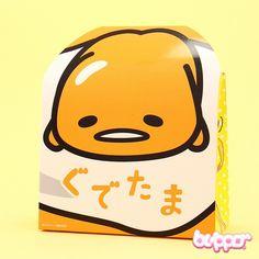 Gudetama Vanilla Custard Chocolates Box - 5 pcs