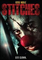 """Years after being brutally slaughtered at the hands of vile young children at a birthday celebration, undead clown Richard """"Stitches"""" Grindle (Ross Noble) returns from the grave to turn the now-teens' wild party into an orgy of blood and death. ~ Jason Buchanan, Rovi"""