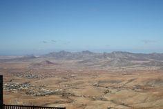 Panorama desde Morro Velosa municipio de Antigua Fuerteventura