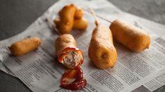 Pogo | Recettes | Signé M | Émission TVA Tapas, Menu, Sausage, Easy Meals, Fruit, Vegetables, Camping, Burgers, Super Bowl
