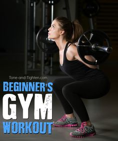 Want to start hitting the gym but don't know where to start? This gym workout is quick and works all your major muscle groups! Perfect for beginners!