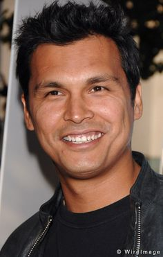 """Adam Beach, Actor, Ojibwa Tribe (I come from the Ojibwa Tribe,also known as """"Chippewa"""")"""