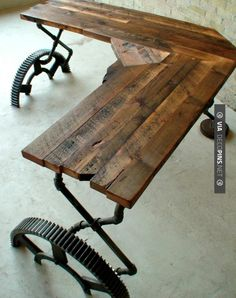 Desk for hubby in his office, maybe