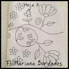 bordado mexicano patrones pie de cama - Buscar con Google
