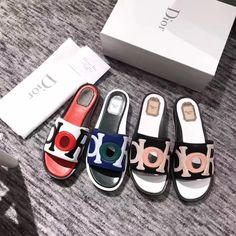 Dior woman slippers flats