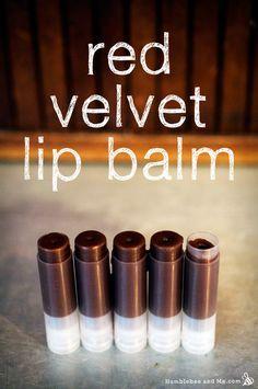 Red Velvet Lip Balm Recipe