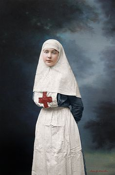 Zinaida Malynich, russian nurse, WWI | Flickr - Photo Sharing!