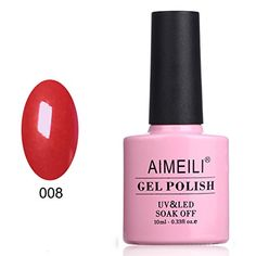 AIMEILI Soak Off UV LED Gel Nail Polish  Hollywood 008 10ml ** Read more  at the image link.Note:It is affiliate link to Amazon.
