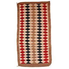 "Image of Antique American-Indian Navajo Rug - 3'6"" x 5'10"""
