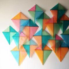 Kite installation by Bramble Workshop