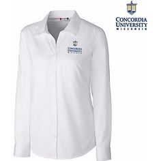 Cutter and Buck Concordia University Wisconsin Women's Long Sleeve Shirt $34.00