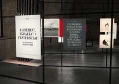 Revolucions, de la utopia a la antrotopia by Gemma Villegas. Interior design: Borja Bleda #graphicdesign #spacedesign