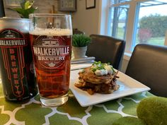 Walkerville Irish Red Ale with Pulled Portobello BBQ in Irish Potato Boxty Sandwiches Bbq Sandwich, Sandwiches, Irish Potatoes, Sandwich Ingredients, Essex County, Stuffed Mushrooms, Stuffed Peppers, Complete Recipe, Russet Potatoes