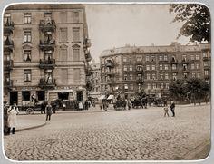 Marketplace in Hamburg, Germany ca. 1900