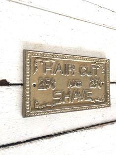 Barber Shop Decor Vintage Barber Shop Barber Shop by honeywoodhome