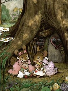 Quirky Art, Whimsical Art, Maus Illustration, Cute N Country, Cute Mouse, Cute Little Things, Christmas Books, Fairy Land, Chipmunks