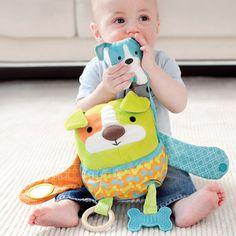 Skip Hop Hug & Hide Dog Activity Toy #Easter #basket #boy