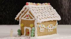 Children's Gingerbread House Allrecipes.com. This is happening this week at our house :)