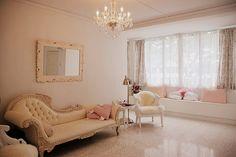 lámpara de araña, hermosa, elegante, casa, interior